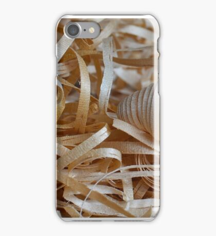 Shavings iPhone Case/Skin