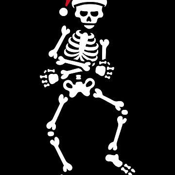 Skibidi challenge meme skeleton Christmas dance by LaundryFactory