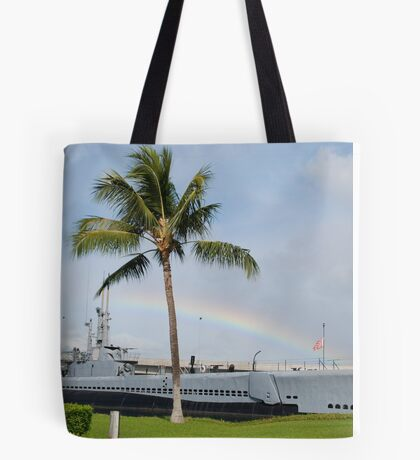 Rainbow in Hawaii Tote Bag