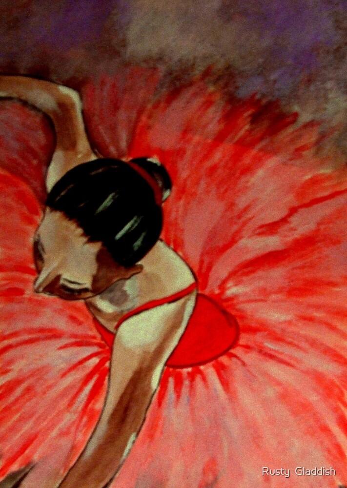 Ballerine Rouge by Rusty  Gladdish
