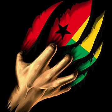 uinea-Bissauan in Me Guinea Bissau Flag DNA Heritage Roots Gift  by nikolayjs
