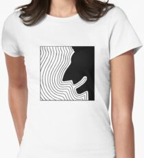 IcePoseidon Abstract Women's Fitted T-Shirt