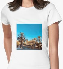 San Diego Morning Women's Fitted T-Shirt