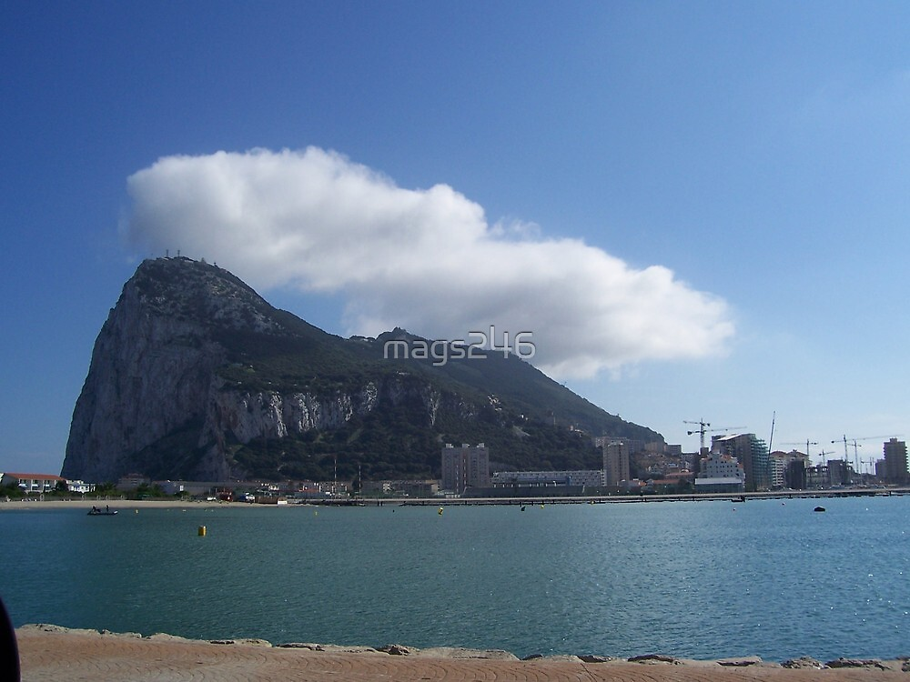 Rock of Gibralter by mags246