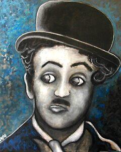 Charlie Chaplin by jeffrey luepkes