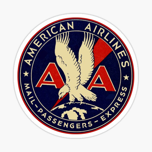 American Airlines Sticker