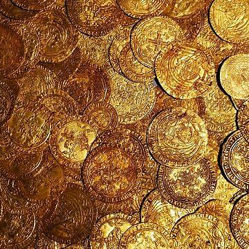 Spanish Gold Coins, 1715, British Museum, London by IgorPozdnyakov
