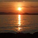 sunset on my islands by sleepyangel