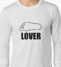 FOOT LOVER Long Sleeve T-Shirt