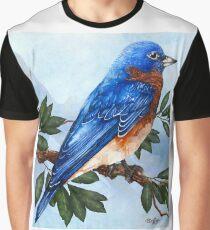 Blue Bird Graphic T-Shirt