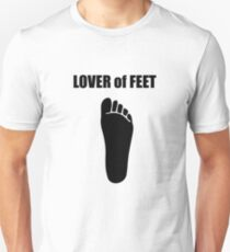 Lover of Feet Unisex T-Shirt
