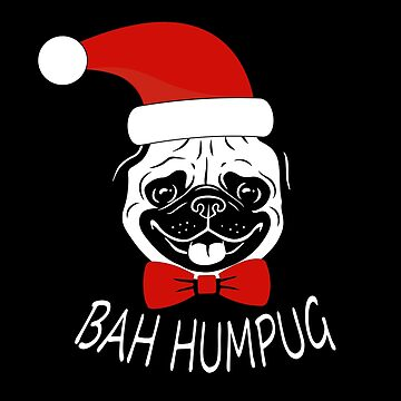 Christmas Pug by SamDesigner