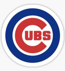 Chicago Cubs Logo Sticker