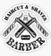 barber – haircut & shaves Sticker