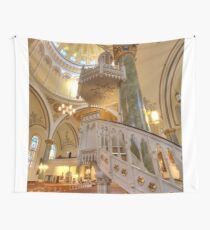 The White Pulpit Wall Tapestry