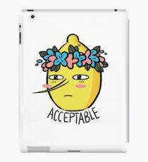 Soft Lemongrab  iPad Case/Skin
