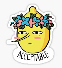 Soft Lemongrab  Sticker