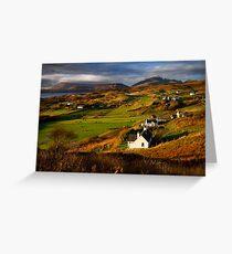 Tarskavaig in November. Isle of Skye. Scotland. Greeting Card