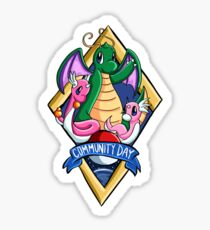 February Community Day Sticker Sticker