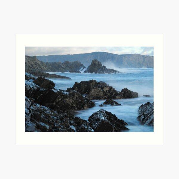 Shattered Shores Art Print