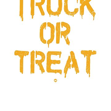 Truck Or Treat by ixmanga