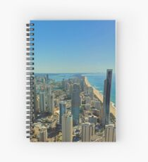 ❤ The Gold Coast ❤ Spiral Notebook