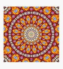 'Inside the Singularity Mandala 1' Photographic Print