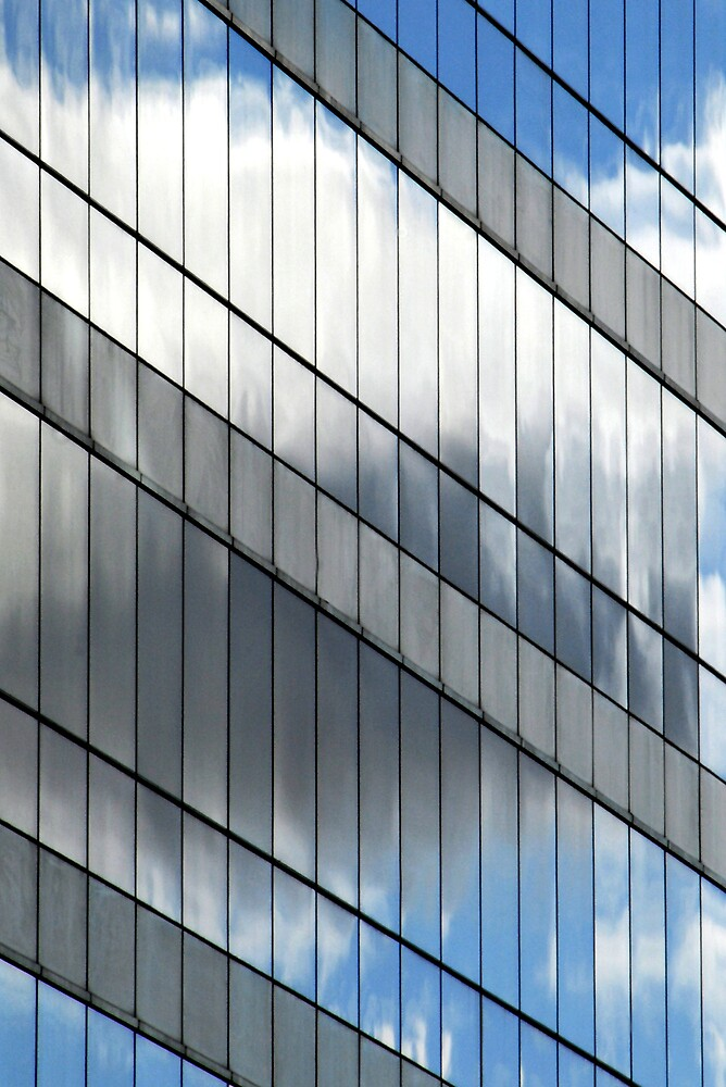 Building reflection 7, Sydney, Australia by luvdusty