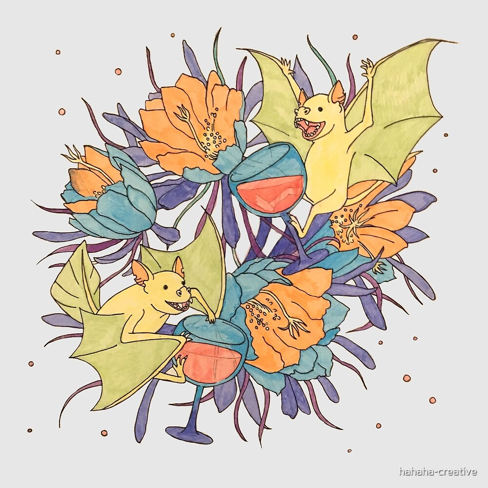 party bats_ day time by hahaha-creative