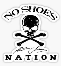 kenny no shoes nation chesney 2019 doso Sticker