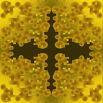 Gold Brocade  by myimpression