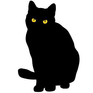 black cat by daisy-sock