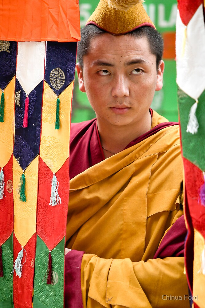 Multicolor Monk by Chinua Ford