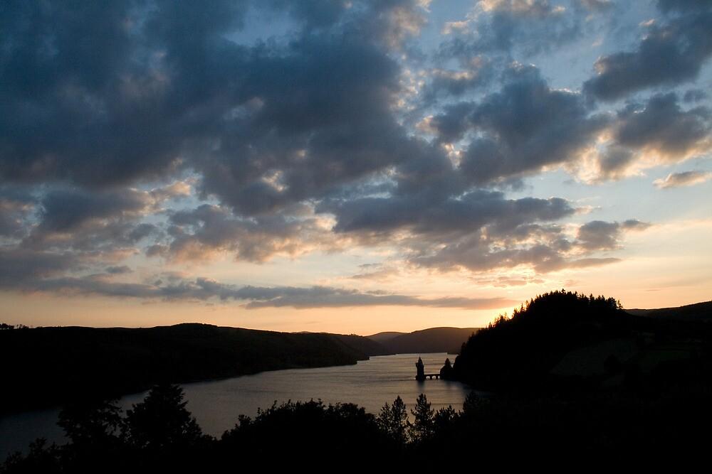 Lake Vyrnwy, North Wales by Llanrwst