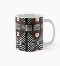 Fijian Tapa Cloth 7 by Hypersphere Mug