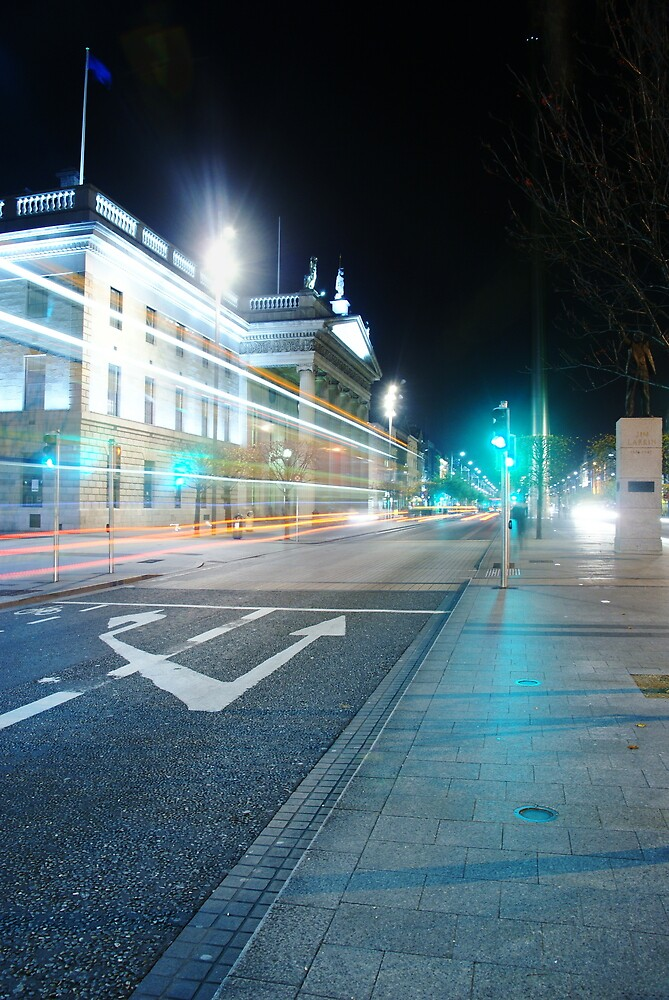 O'Connell Street by Alan Wright