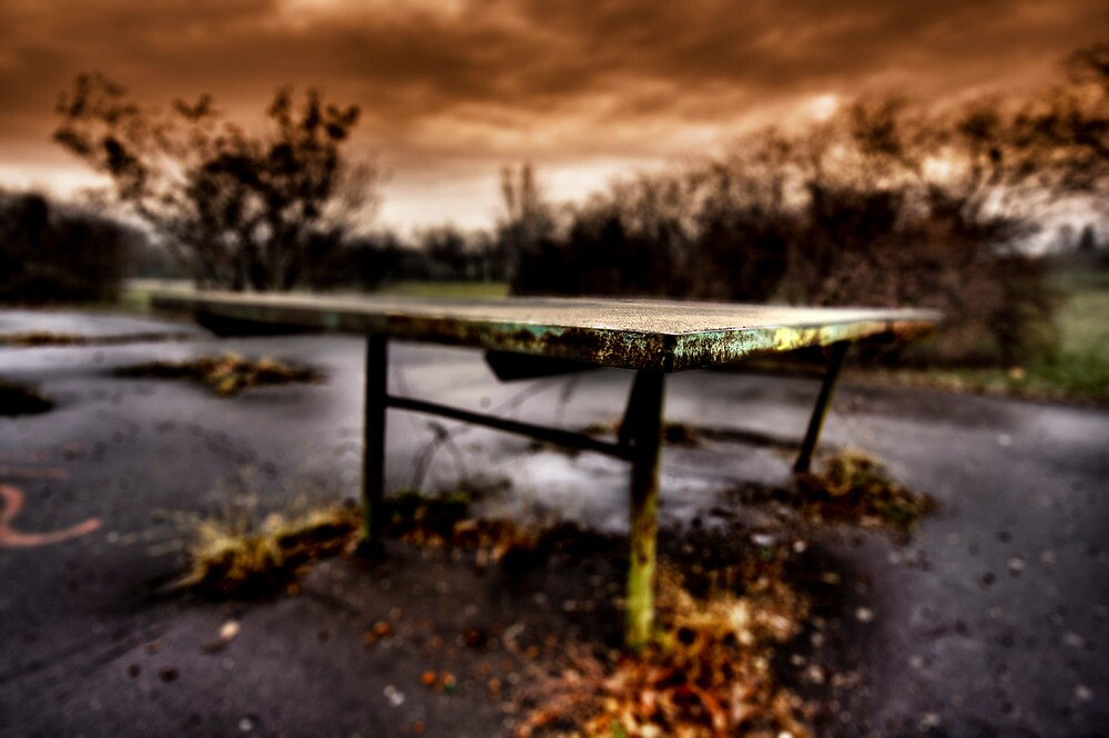 Table tennis by Csaba Jekkel