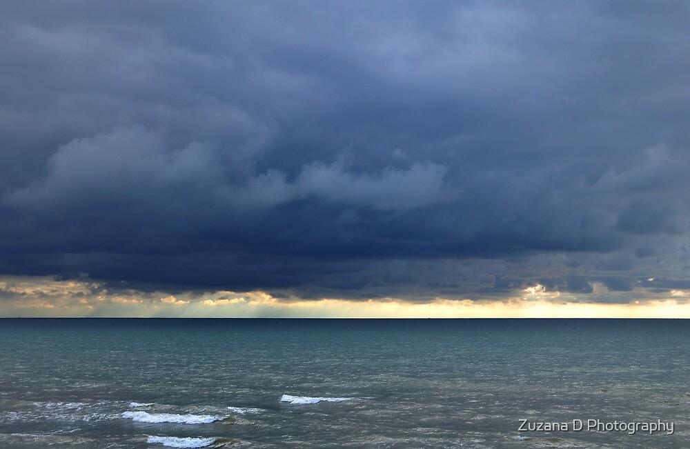 Stormy clouds by Zuzana D Photography