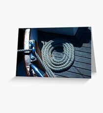 Nicely coiled! Greeting Card
