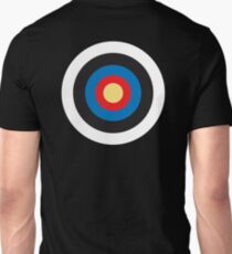 Bulls Eye, Target, MOD, Roundel, on BLACK T-Shirt