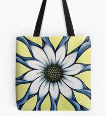 Weiße afrikanische Gänseblümchen-Blume Tote Bag