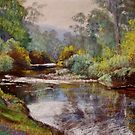 Autumn - Buckland River by Lynda Robinson
