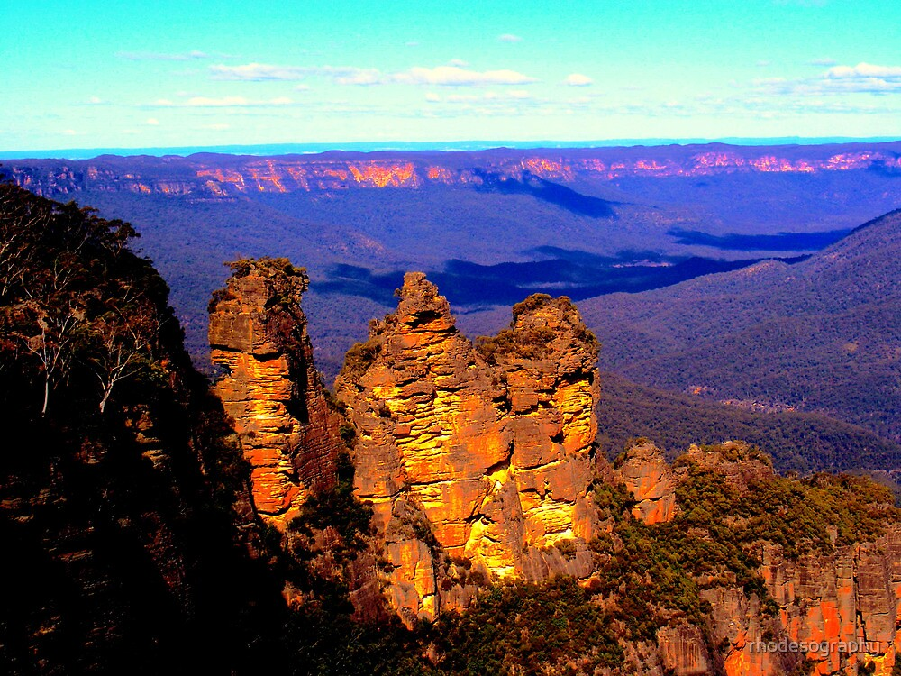 Blue Mountains by rhodesography