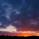 Night Surrenders - a spectacular sunrise by steppeland