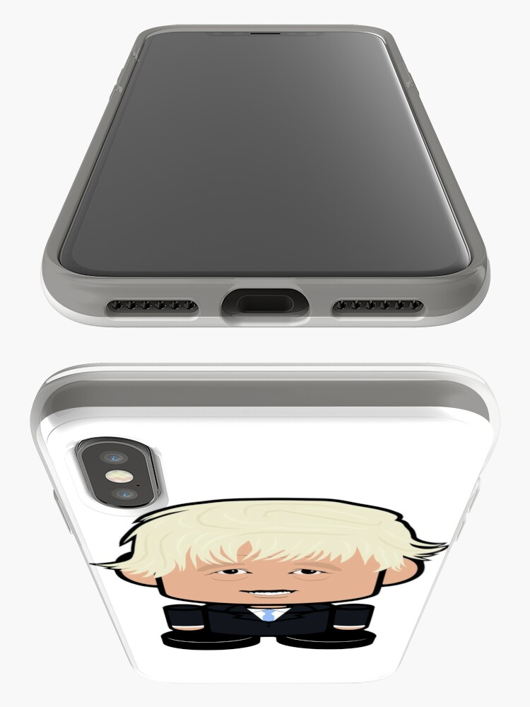 Alternate view of Bojo POLITICO'BOT Toy Robot iPhone Case & Cover