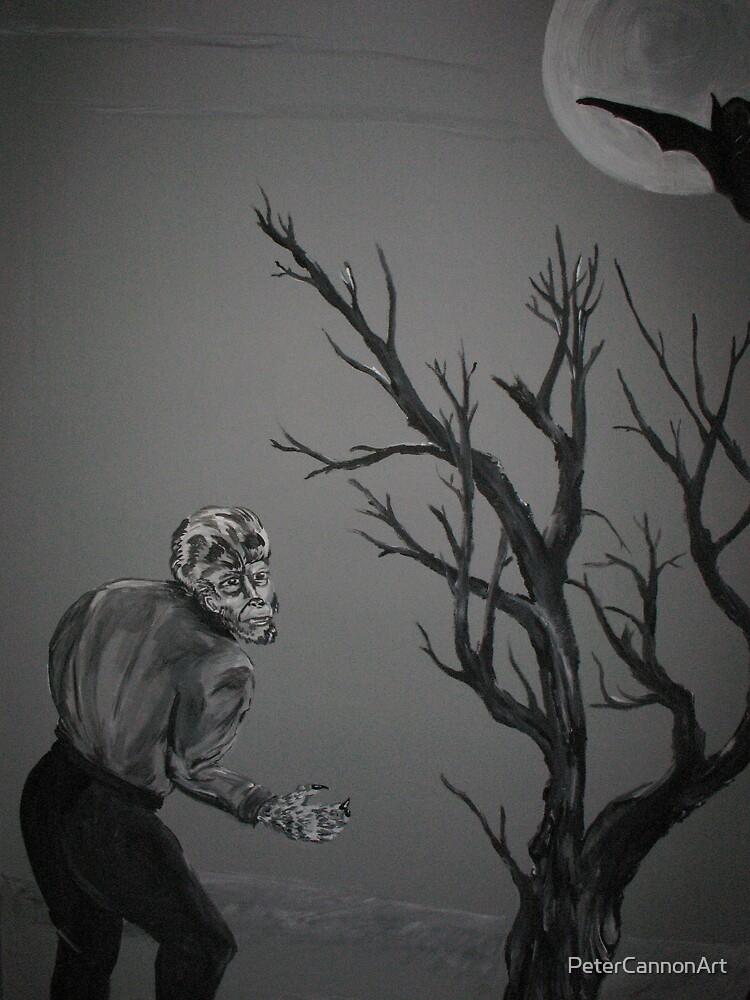 wolfman by PeterCannonArt