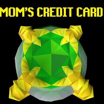 Mom's Credit Card by pinkbutter