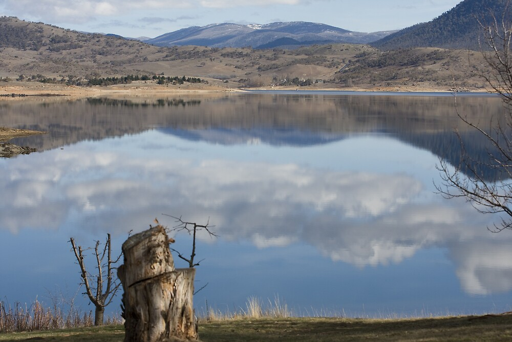 Glassy - Lake Jindabyne by Saphronne Farrell