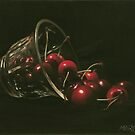 Cherries by marcelfineart