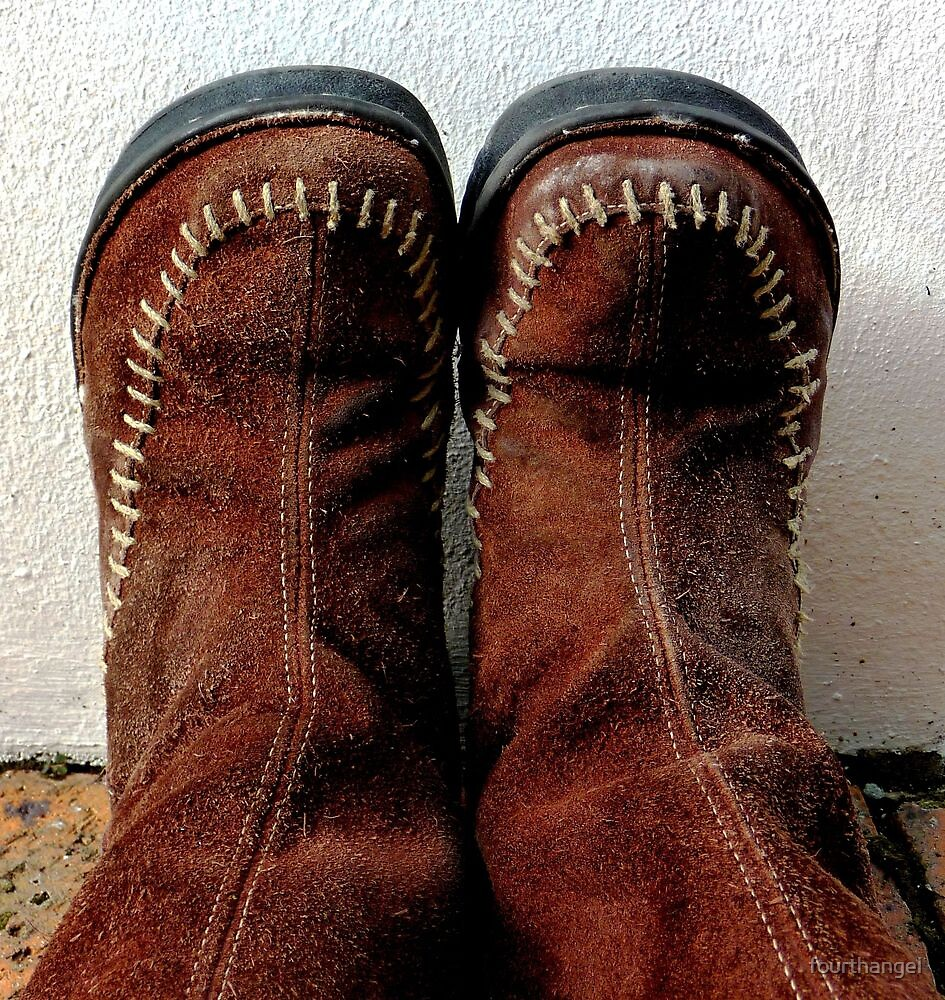 These boots are made for walking by fourthangel
